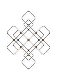 Modern eternal knot