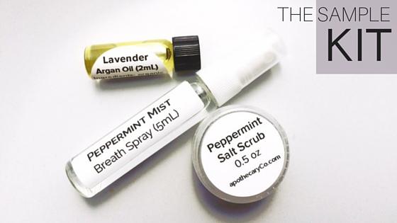 ApothecaryCo sample kit