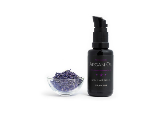 Organic Argan Oil with Lavender, 1 fl. oz / 30 mL